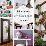 Diy Roundup 10 Clever Diy Wall Decor Ideas