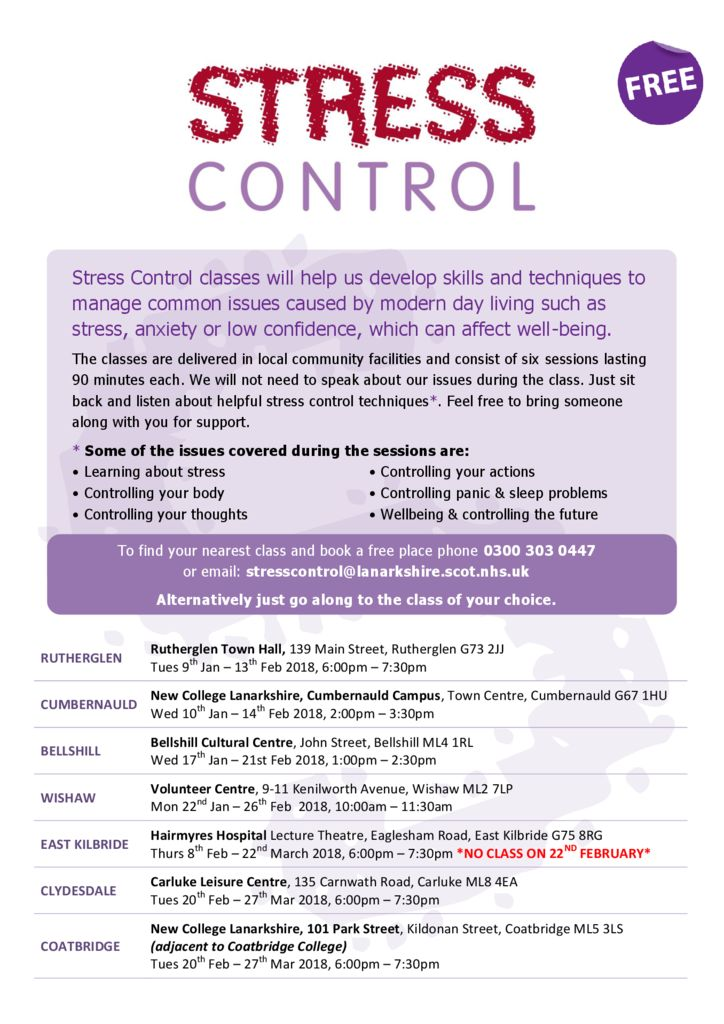 thumbnail of Stress Control Poster for Classes Jan – Mar 2018Updated