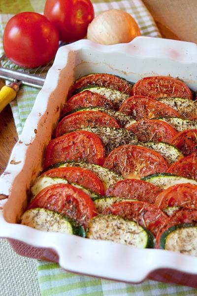 TomatoZucchini Tian