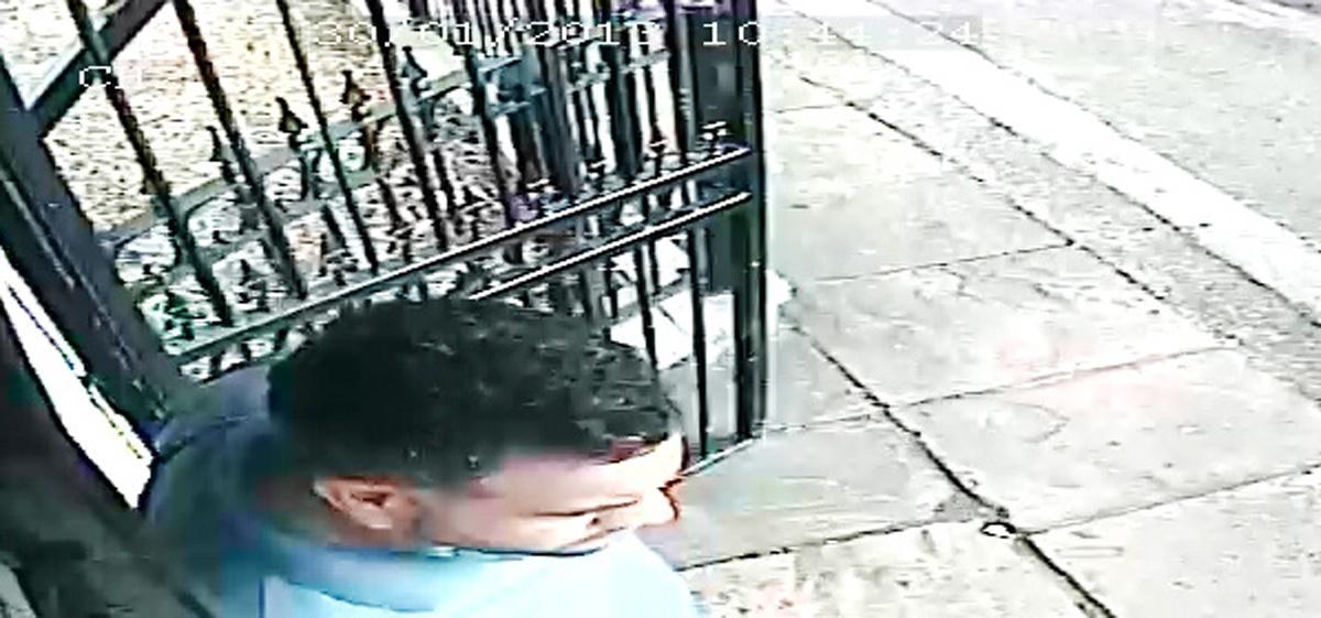 Police wish to speak to this man, caught on CCTV