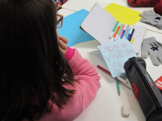 Workshop with children from the 4th grade in Loures