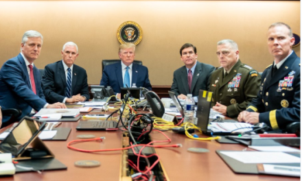 White House gets caught making phony war room photo