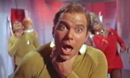 Capt. Kirk just 'Shat' all over the whole 'ok, boomer' thing