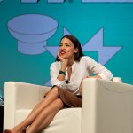 AOC challenges Trump and 'bets it all' that she has the superior brain