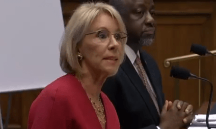 Betsy DeVos gets humiliated during Congressional hearing on her legal problems