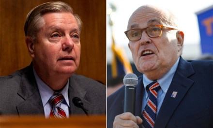 Graham invites Giuliani to spin his Ukraine-Biden lies before the Senate Judiciary Committee