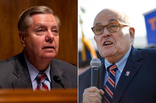 Graham invites Giuliani to spin his Ukraine-Biden lies before the Senate Judiciary Committee