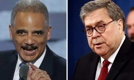Eric Holder slams William Barr as 'unfit' to be attorney general in scathing editorial