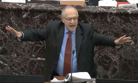 Dershowitz learns about karma after denying he said Trump can cheat to get reelected