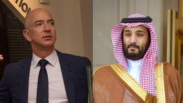 Experts accuse Saudi crown prince of hacking cell phone belonging to Jeff Bezos