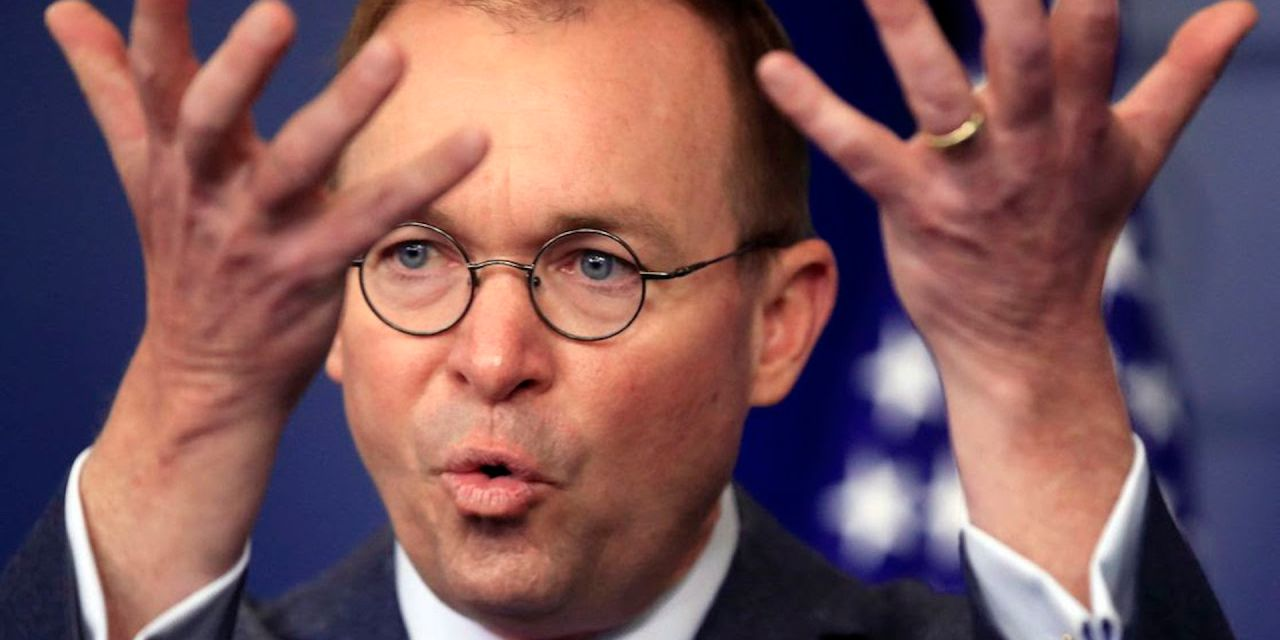 Mick Mulvaney admits: The U.S. is 'desperate' for immigrants to help fuel economic growth