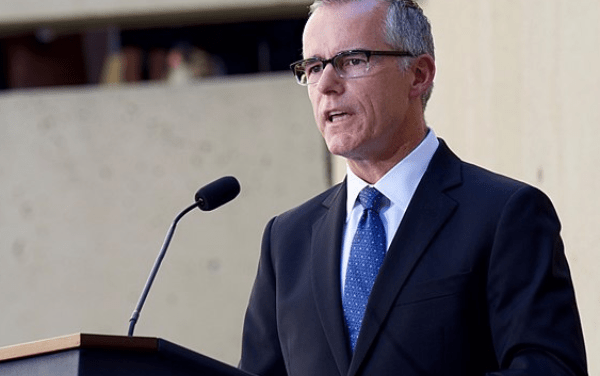 DOJ drops Trump's trumped up investigation against former FBI Deputy Director Andrew McCabe