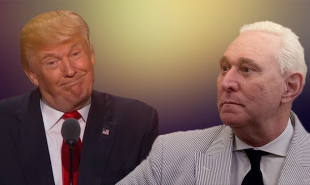 Roger Stone personally thanked Trump for pardoning him at holiday party