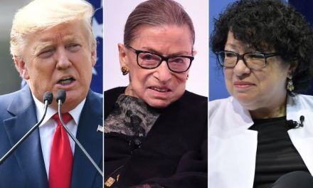 Trump insists Justices Ginsburg and Sotomayor recuse themselves from any cases involving him