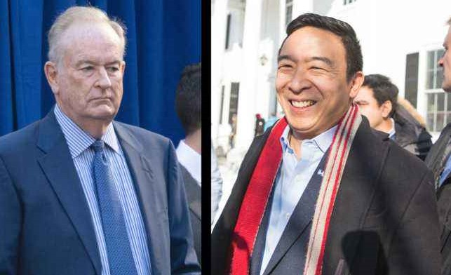 Bill O'Reilly gets owned after his weak attempt to troll Andrew Yang fails miserably