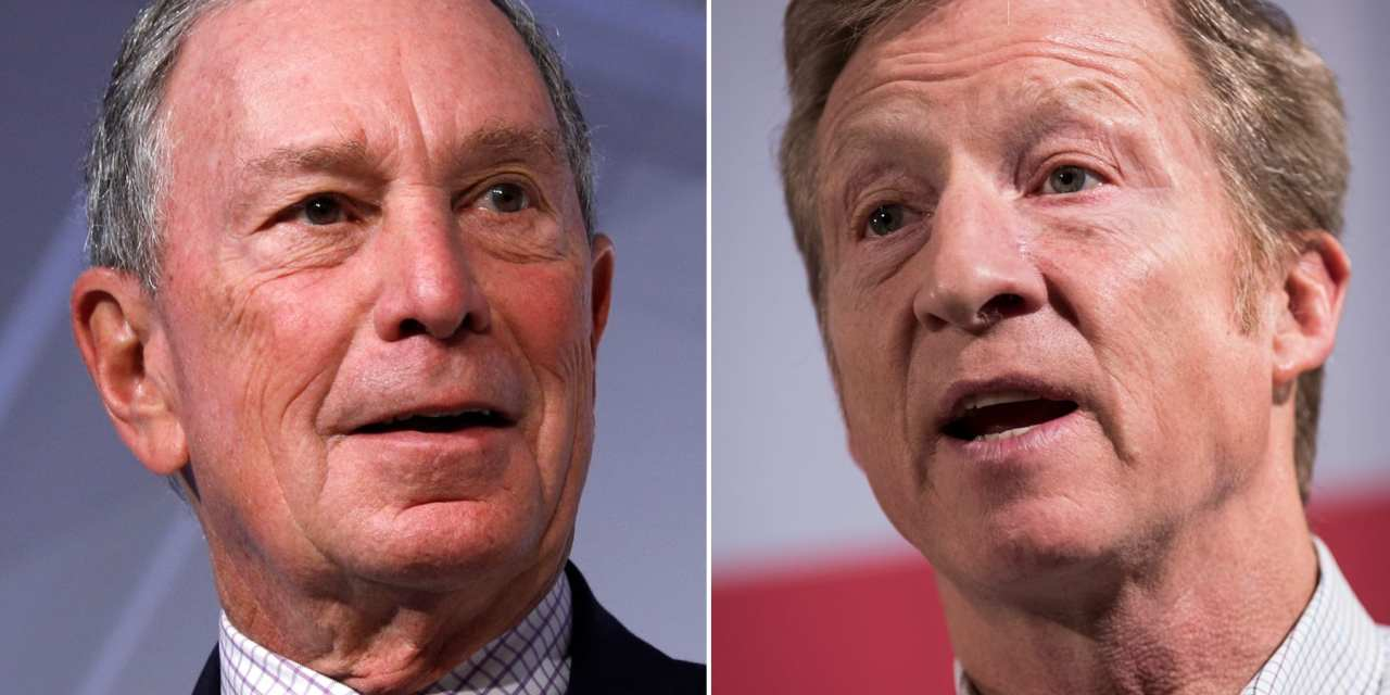 Trump is now all but begging Bloomberg and Steyer not to donate more money to Democrats