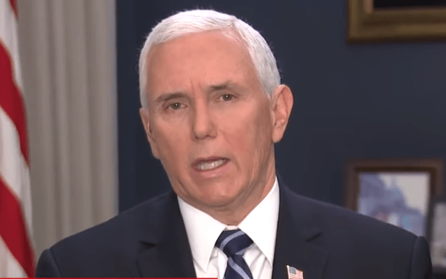 Pence face plants when asked how many people have been tested for coronavirus