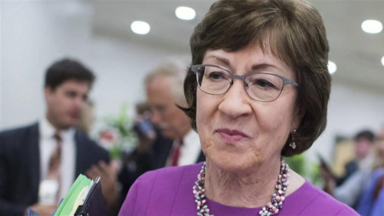 Susan Collins says she can't understand why voters in Maine are so angry with her