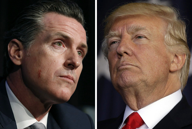 California governor Gavin Newsom says 170 ventilators sent by the federal government don't work