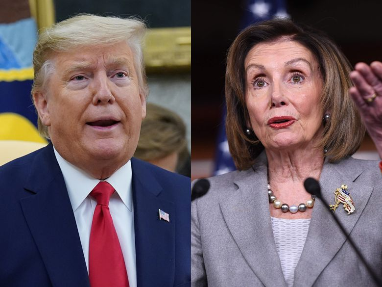 Desperate Trump attacks Pelosi as a 'sick puppy' rather than admit his own bumbling