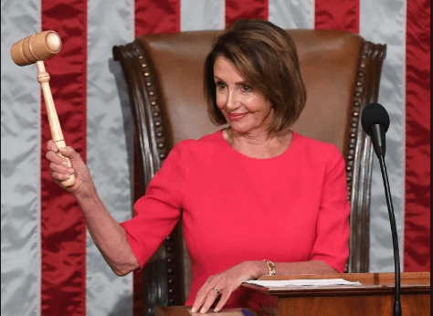 Nancy Pelosi is actually the one person that will ensure we have an election in November 2020