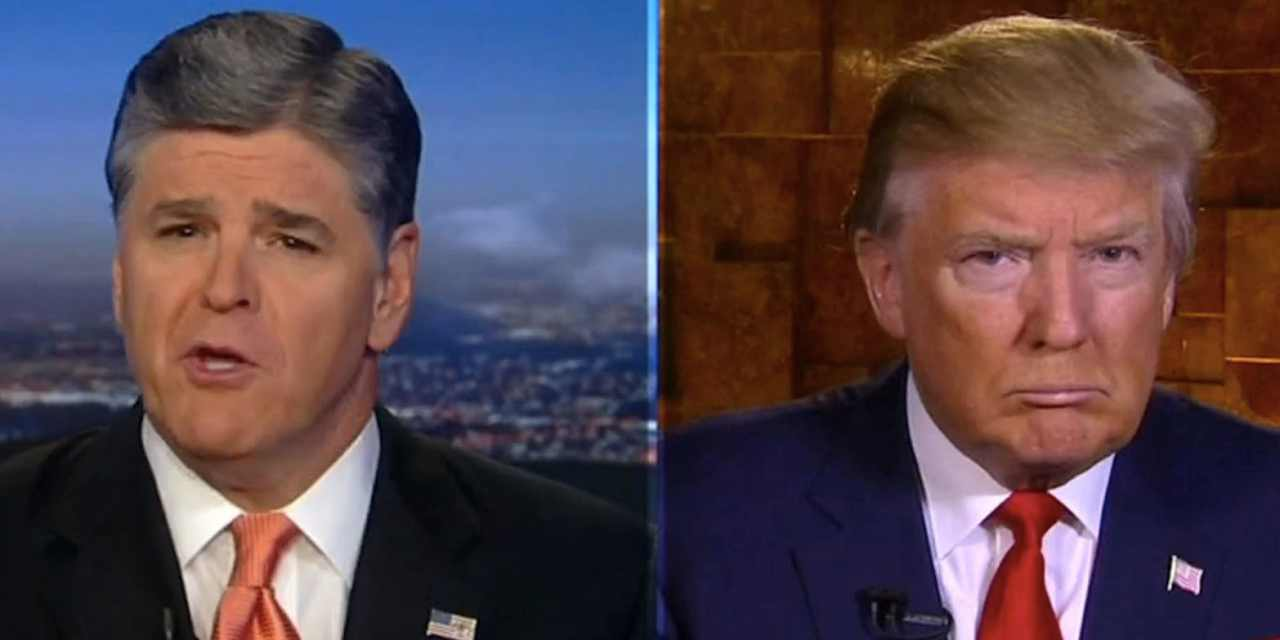 Sean Hannity breaks with Trump on supporting 'dangerous' armed anti-lockdown protesters