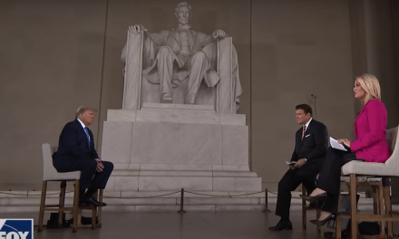 Trump violated a federal prohibition by hosting Fox News town hall at Lincoln Memorial