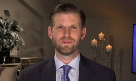 Eric Trump claims coronavirus is a conspiracy that will 'magically' vanish after the election