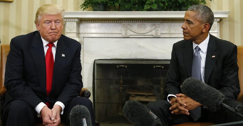Petty POTUS refusing to unveil official White House portrait of Obama