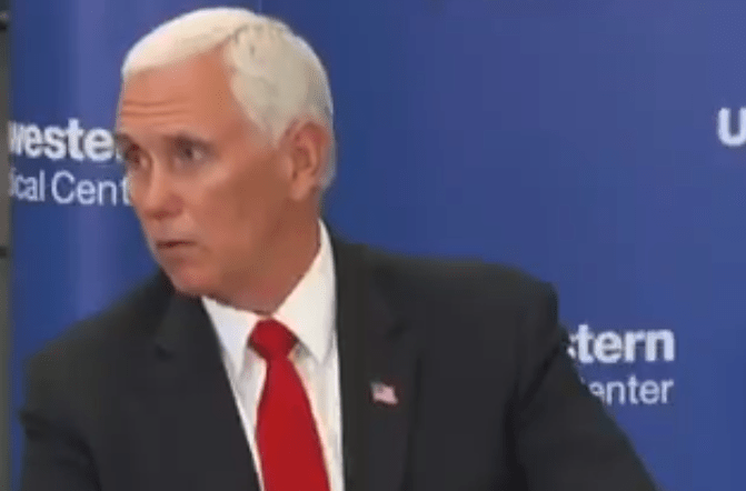 Pence praises Texas governor for reopening economy even as state suffers coronavirus explosion