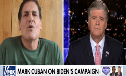 Mark Cuban endorses Biden and mocks Trump in fractious interview with Sean Hannity