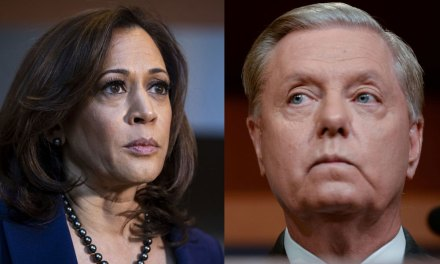 Kamala Harris shreds Lindsey Graham's sham 'Obamagate' hearing as 'irrelevant'
