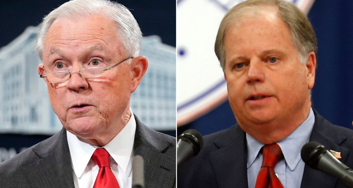 Alabama Senator Doug Jones takes Jeff Sessions to school on the real history of the Confederacy