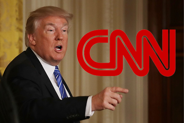 CNN gives Trump a lesson in free speech after he demands they retract a poll he doesn't like
