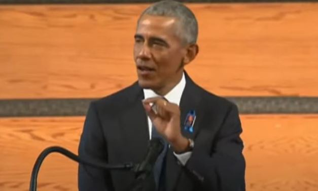 Obama delivers eulogy for John Lewis funeral that Trump would not attend
