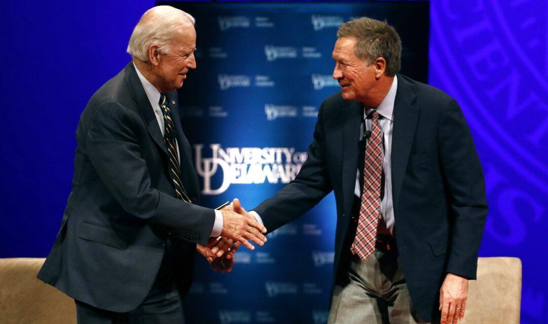 Former Ohio GOP Governor John Kasich will endorse Biden and speak at Democratic convention