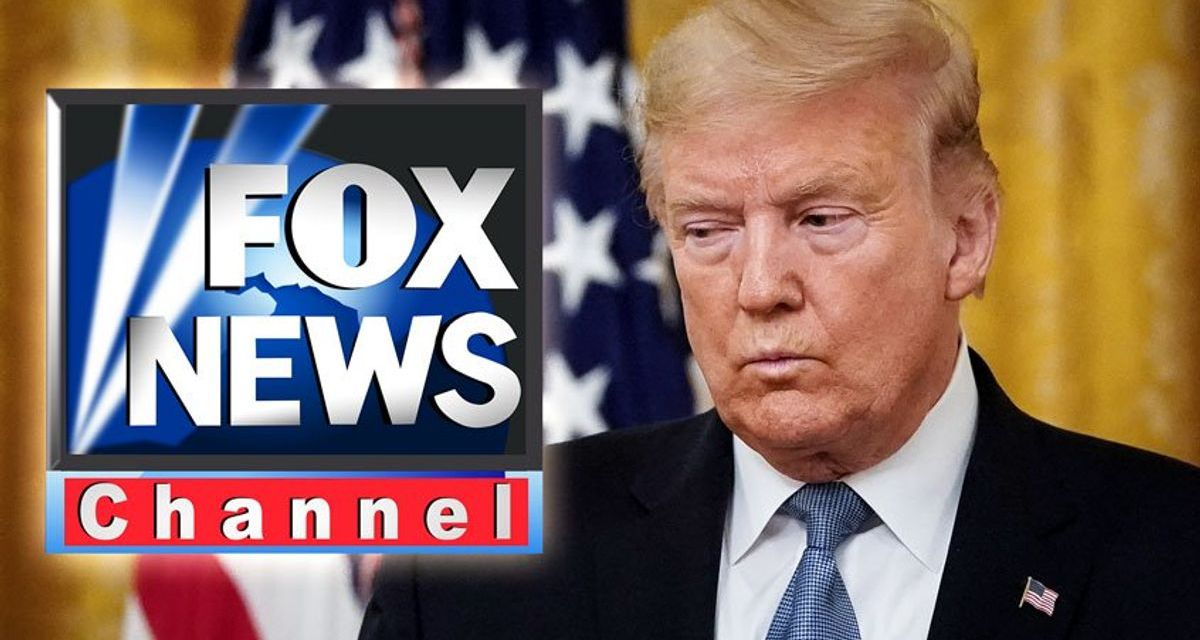 Trump urges followers to switch from Fox News after network reports on his flagging poll numbers