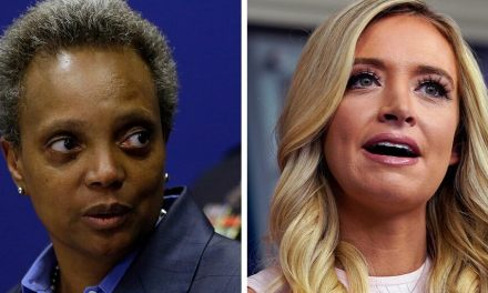 Mayor of Chicago claps back hard at cheap shot from Kayleigh McEnany by branding her a 'Karen'