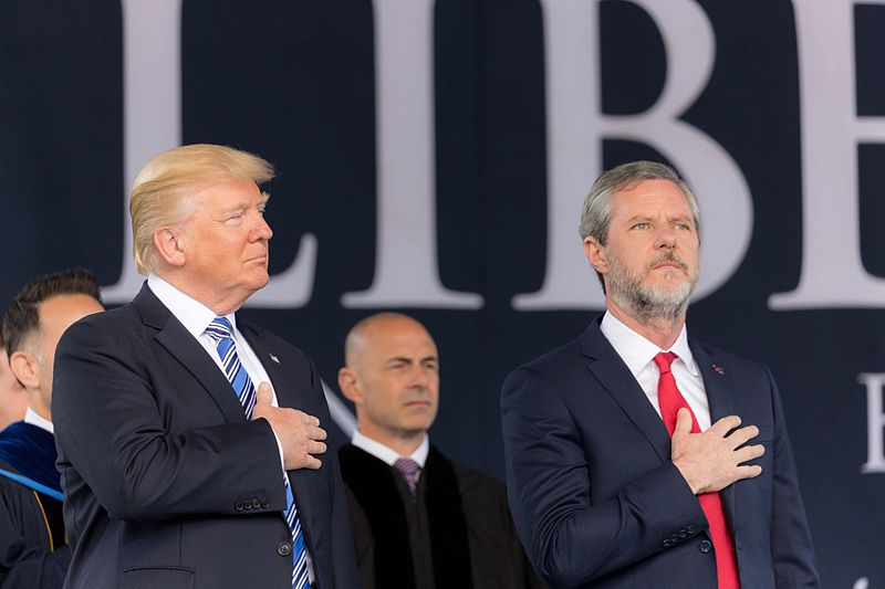 Jerry Falwell Jr. is benched by Liberty University following latest scandal