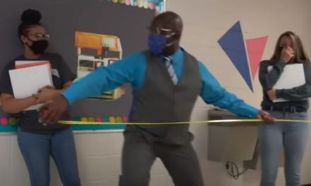 "Alabama principal's COVID parody of ""Can't Touch This"" is PERFECT"