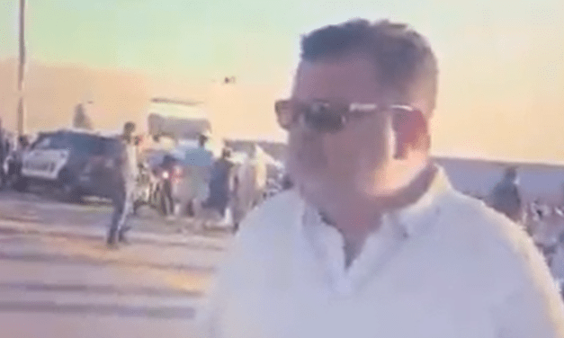 Angry Trump supporter tells reporter at New Hampshire rally: 'Somebody is going to bomb you'