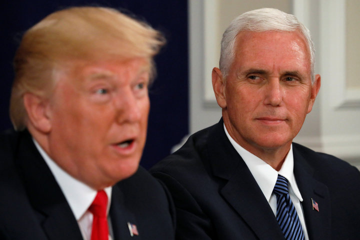 Mike Pence gets pelted with mockery and ridicule for claiming that Trump's 'word is his bond'