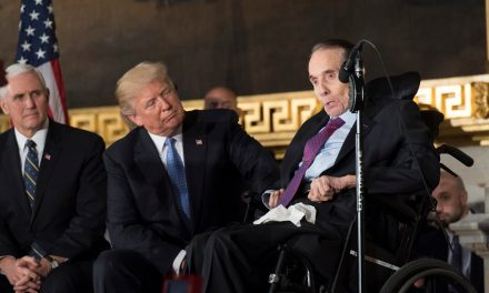Bob Dole embarrasses himself and forfeits whatever credibility he had left defending Trump