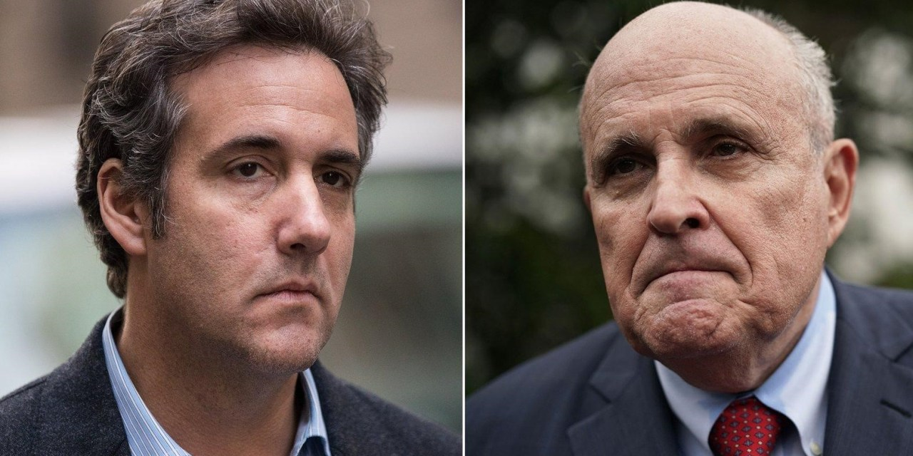 Michael Cohen: Rudy Giuliani is an easy mark for Russia because he's 'drunk all the time'