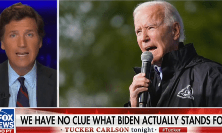 Tucker Carlson calls Joe Biden a 'hologram' who 'doesn't exist' during bizarre rant