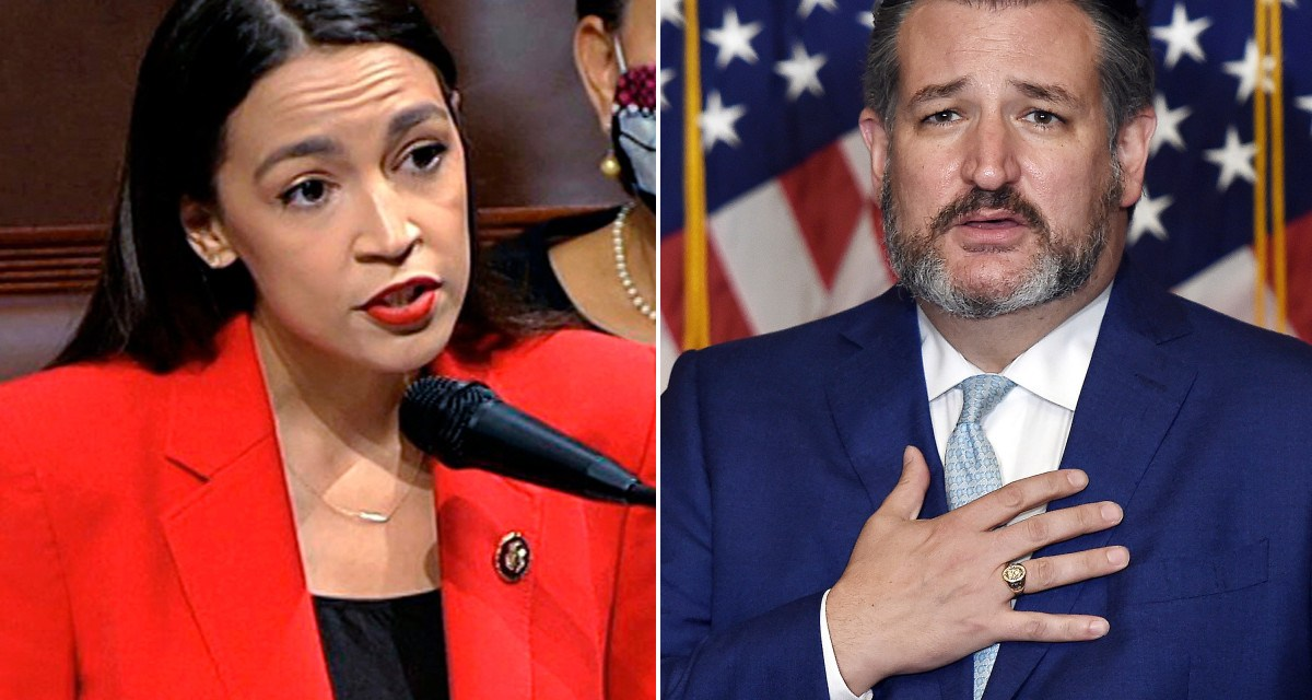 AOC totally owns Ted Cruz when he attempts to deny his role in the Capitol riots