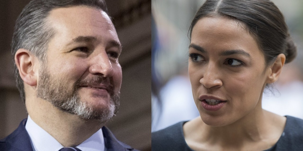 AOC humiliates Ted Cruz after he criticizes Biden's rejoining of the Paris Climate Agreement