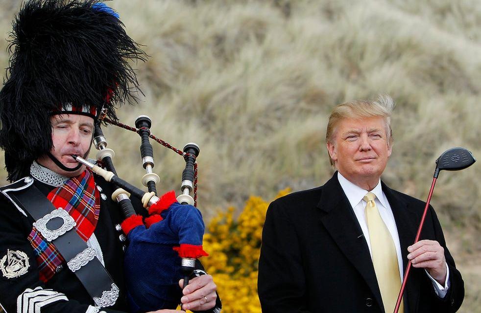 Donald and Melania may flee to Scotland before Joe Biden is inaugurated: Report