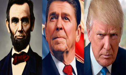 Republicans tell pollsters Trump was a better POTUS than Reagan or Lincoln