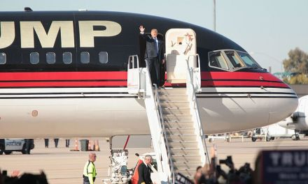 Americans mock Trump over report that his gold plated private Boeing 757 sits in disrepair